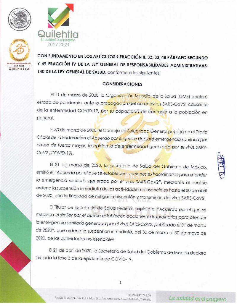 PRESENTACIÒN DE LAS DECLARACIONES DE SITUACIÒN PATRIMONIAL Y LA DE INTERESES